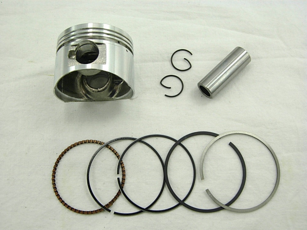 font b GY6 b font 125cc PISTON and RINGS 52 4mm FOR CHINESE SCOOTERS WITH