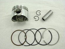 GY6 125cc PISTON and RINGS (52.4mm) FOR CHINESE SCOOTERS WITH 125cc GY6 MOTORS