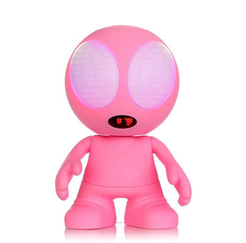 GZ lovely Alien portable Bluetooth Speaker support USB/TF/FM radio/Mic speakphone(China (Mainland))