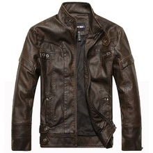 Motorcycle Leather Jackets Men Autumn Winter Leather Clothing Men Leather Jackets Male Business casual Coats Brand New clothing()