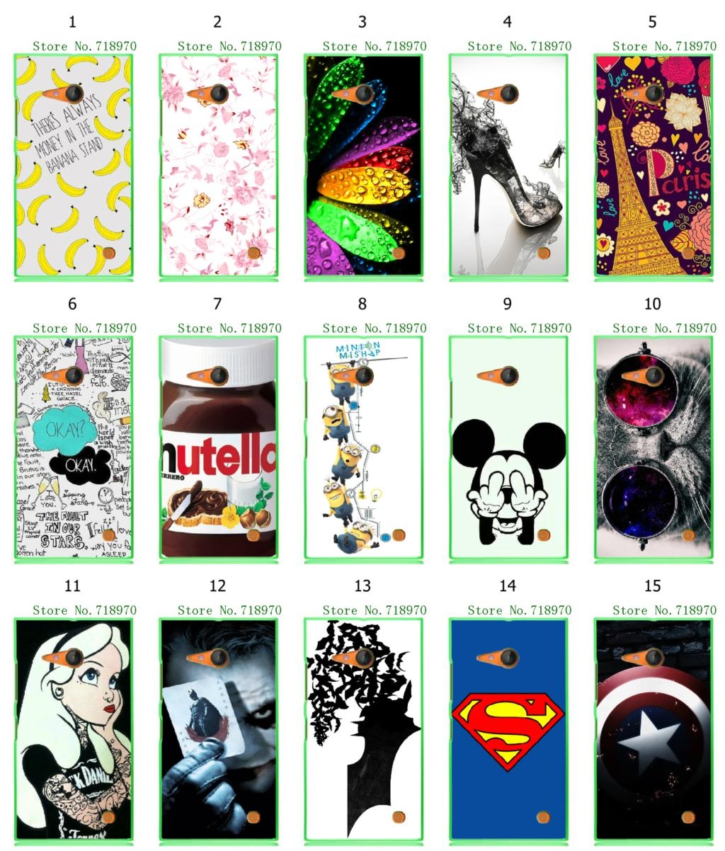 15designs new arrival Towel tiger Minions hybrid retail white hard mobile phone bags & cases for Nokia Lumia 730 N730 free ship(China (Mainland))