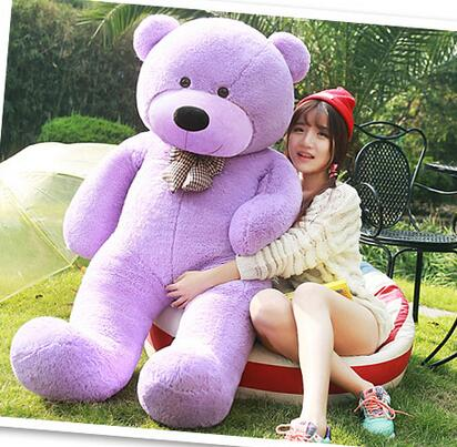 140cm Giant teddy bear plush toy big stuffed toys for kids brinquedos factory price(China (Mainland))