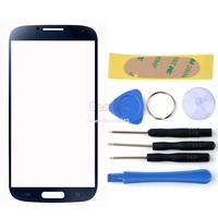 Hot Front Outer Touch Screen Digitizer Glass Lens Replacement For Samsung Galaxy S4 SIV GT-i9500 Free Tool Adhesive 10