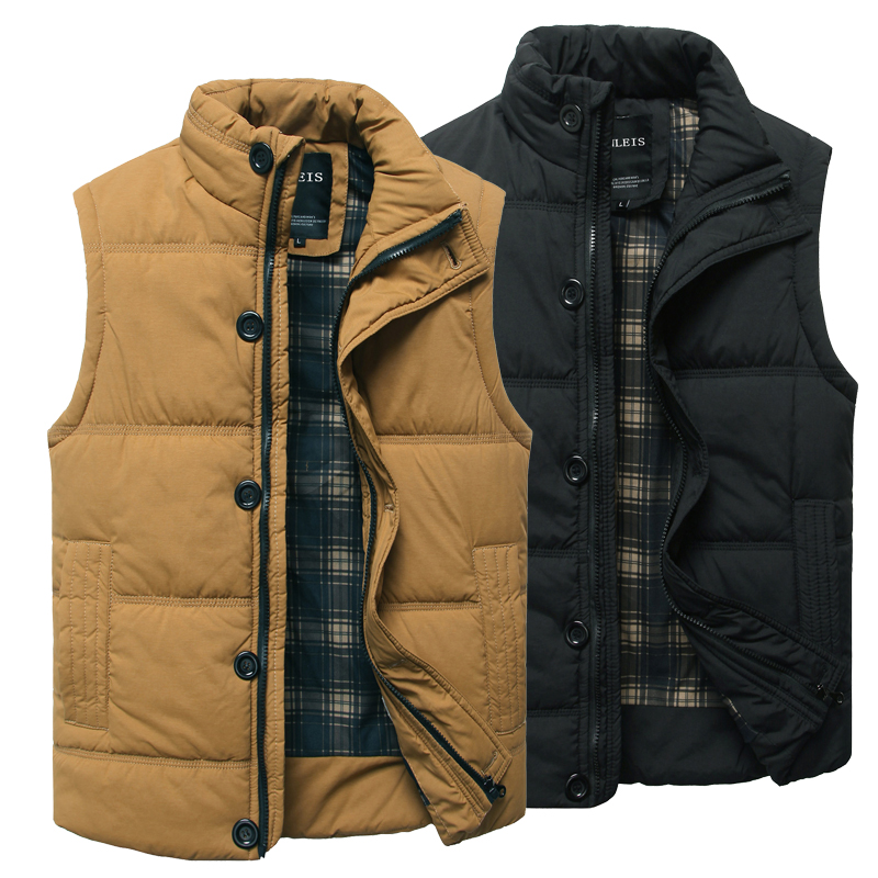 Free shipping winter men's casual sleeveless vest fashion Top Quality Brand New Men's Down vest & Down Outerwear men's jacket(China (Mainland))