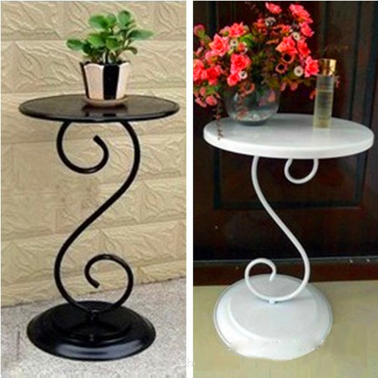 30*30*60cm Outdoor Furniture Friendly-Environmental Durable Portable Iron Folding Round Coffee Table For Bar Or Garden(China (Mainland))