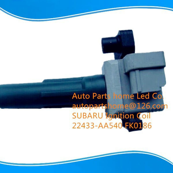 SUBARUej20 DIAMOND FK0186 22433-AA540 Ignition Coil Impreza Forester Legacy Ignition Coil Pack 22433-AA540 22433AA540 FK0186(China (Mainland))
