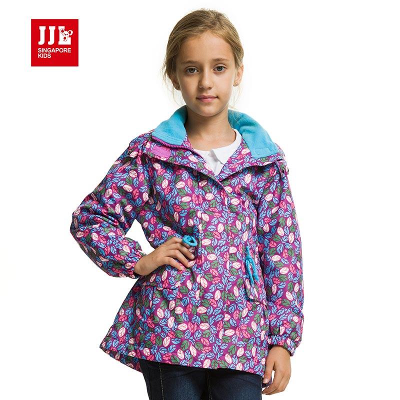 kids coat girls coat hooded jacket for brand girls windbreaker windproof sportwear children clothing kids winter coat
