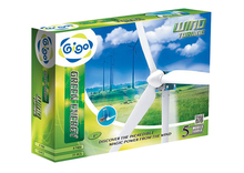 Gigo 2016 new product Green Energy Wind Turbine 77 pcs 5 Models Toys: Wind Power Generator, Tricycle, Vehicle, Helicopter, Truck