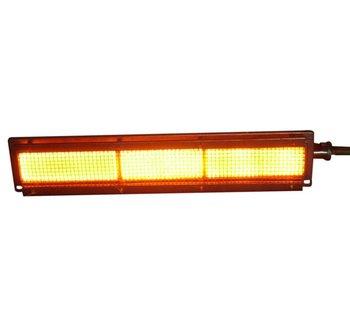 Infrared gas bbq burner