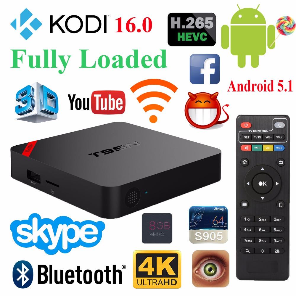 New TOP Android 5.1 4K Tv Box Europe Arabic French Live TV Account IPTV DLNA Smart TV Wifi Kodi16.0 2G 8G Smart TV Box T95N(China (Mainland))