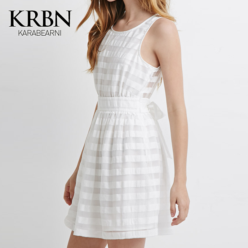 womens summer dresses 2015 summer style plus size women clothing women dress casual vintage dress white mini beach dress K15071(China (Mainland))
