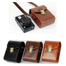 Buy PU Leather Camera Case Canon G9X G7X G7X Mark II SX710 SX700 SX720 S95 S90 SX260 SX240 SX275 Hard Shoulder bag for $10.90 in AliExpress store