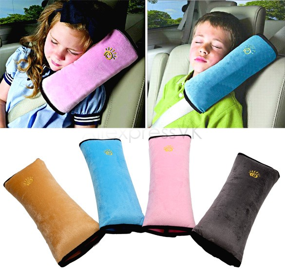 1X Baby Auto Pillow Car Safety Belt Vehicle Harness Shoulder Pad Children Vehicle Seat Belt Cushion for Kids 35(China (Mainland))