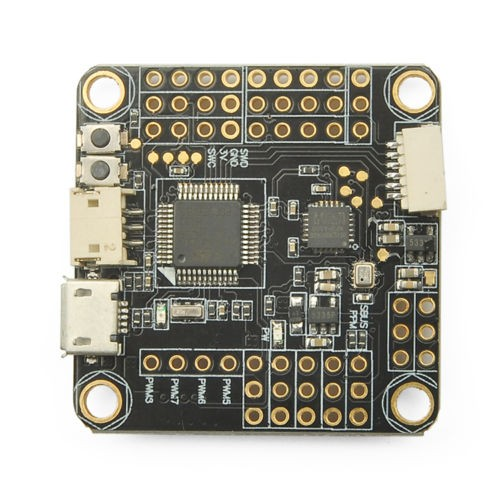 JMT OMNIBUS F3 AIO Flight Controller Built-in OSD STM32 F303 MCU SD Slot for DIY FPV Drone F19510