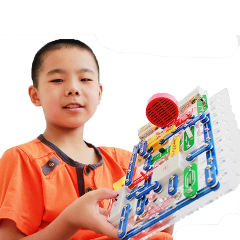 199 Видов Режиме Соединения Оснастка Цепей Электроники Discovery Kit Электронные Строительные Блоки Монтажные Игрушки для Детей