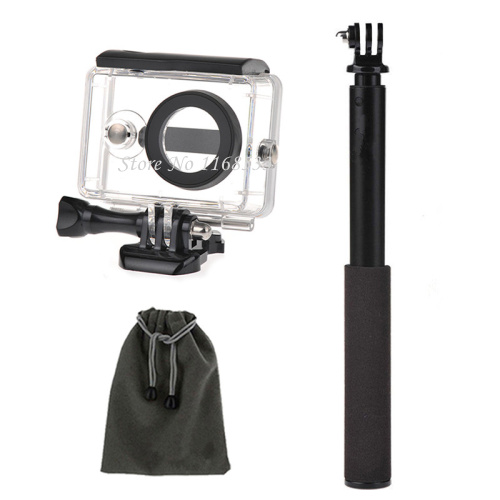 Xiaomi Yi Sports Cam Action Camera,Waterproof Case+Selfie Pole Mount - Innovation photographic equipment co., LTD store