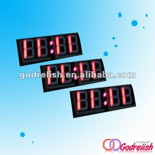 bus led digital clock