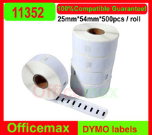 Rolls Dymo / for Seiko 11352 Compatible Labels for Labelwriter 54mm X 25mm