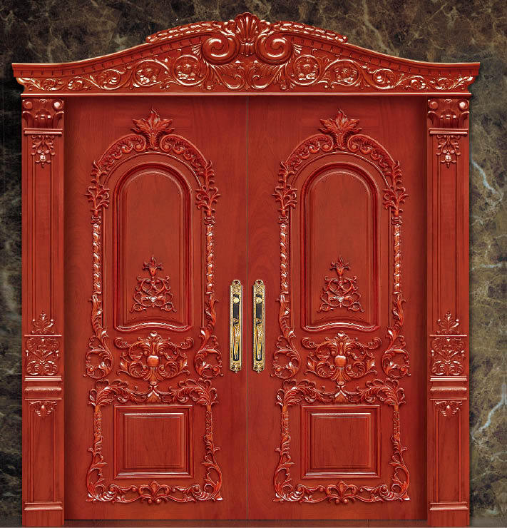 solid wood door enterior wooden door hotel interior security doors