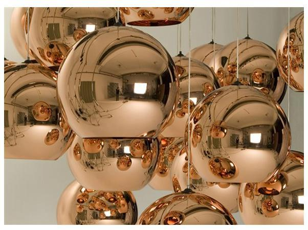 Tom Dixon Copper lamp shade pendant one piece Diameter 40CM + free shipping<br><br>Aliexpress