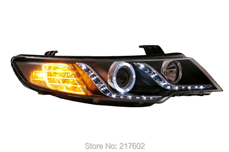for Kia Forte LED bar light Head lights 2009-2013 year V1(China (Mainland))
