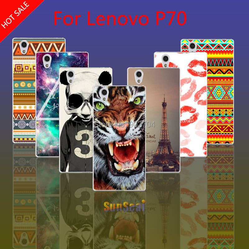 For Lenovo P70 Case Russia Brazil Flag Despicable Me Marilyn Monroe Audrey Hepburn Hard Cell Phone Case(China (Mainland))