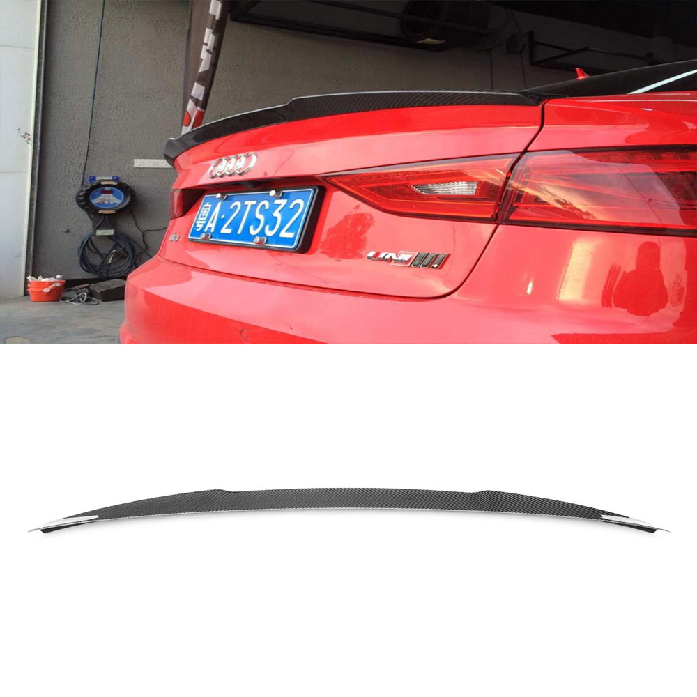 Buy a3 s3 jc styling carbon fiber rear for Wing motors automobiles miami fl