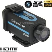 NEW !! Free SHIPPING  Waterproof 1080P CMOS 5 Mega Pixels SportsDigital Video Camera with 4x Digital Zoom SD Card(China (Mainland))