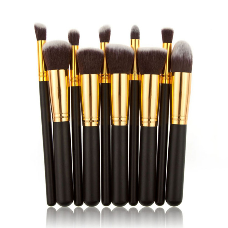 cheap makeup brushes. affordable makeup brush sets black gold style master brushes set best kabuki cosmetic foundation powder kit newest cheap e