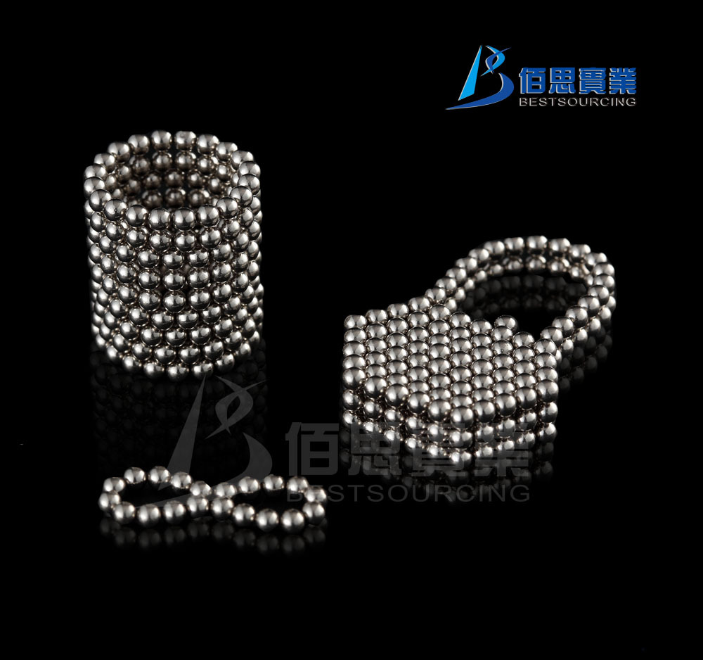 Free shipping 10pcs/lot Buckyballs 216 D3mm Silver Neocube Toy Neo Cubes Magnetic Balls(China (Mainland))