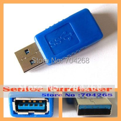 New Standard USB 3.0 Type A male to female converter extension adapter up to 4.8Gbps backup usb 2.0 1.Free Shipping