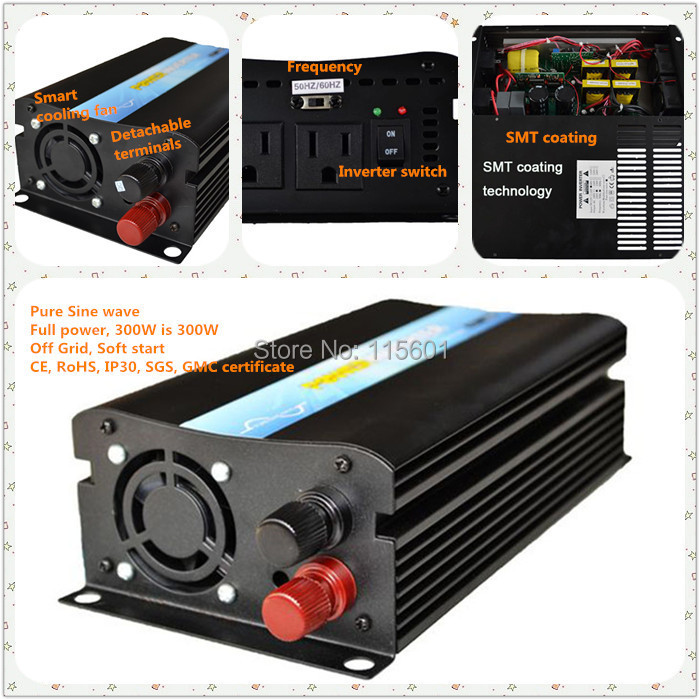 Manufacturer Direct Selling Inverter 12v 220v 300w ,one year warranty made in China <br><br>Aliexpress