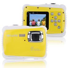 "Waterproof 3M 1.8"" LCD Screen 30fps HD 5MP Digital Camera Children Child Kids Portable Handy 720P CMOS-Sensor Mini Camcorder(China (Mainland))"