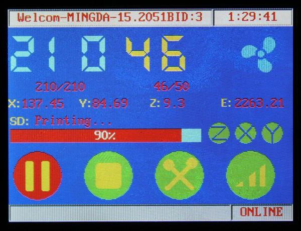 MINGDA DHL! 300 * 200 * 600 /3d