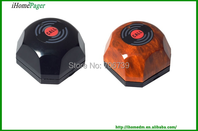 IHOMEPAGER Hot sale wireless calling system waiter caller 50Buttons/pack
