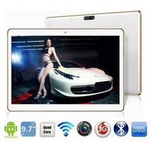 cute cheaper new promotion 9.6 inch Tablet PC16GB Android 5.1 3G telephone Quad Core WIFI Bluetooth gitf free ship