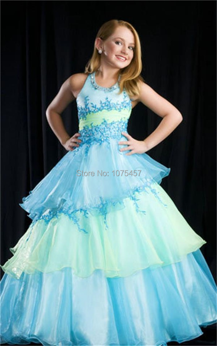 Princess ball gown flower girl dresses for weddings 2015 for Wedding party dresses for girl