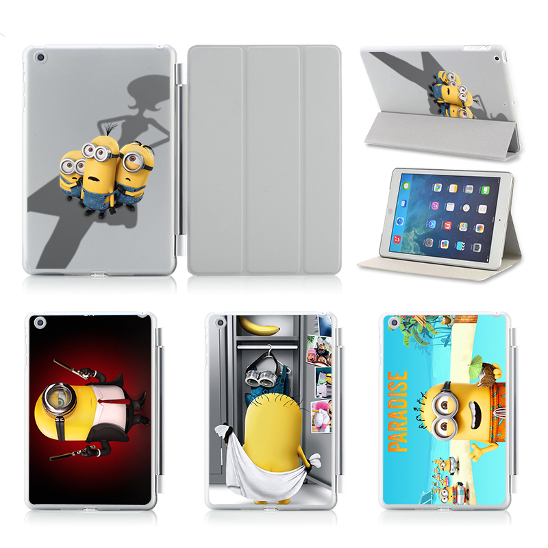For Apple Ipad Air 2 Case Print Cartoon Tablet PC 9.7 Inch Covers Flip Stand PC & Leather Case For Ipad Air 2 Ipad 6 Cases Cover(China (Mainland))