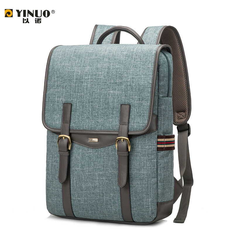 YINUO Laptop Bag 14 Inch 13 Inch Laptop Bag for Women Men 15.6 Inch Laptop Waterproof Shoulder Backpack for Student(China (Mainland))