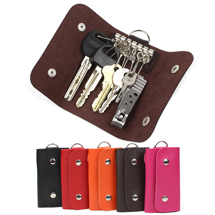 Fashion gifts Keys holder Organizer Manager patent leather Buckle key wallet case car keychain for Women Men brand free shipping<br><br>Aliexpress