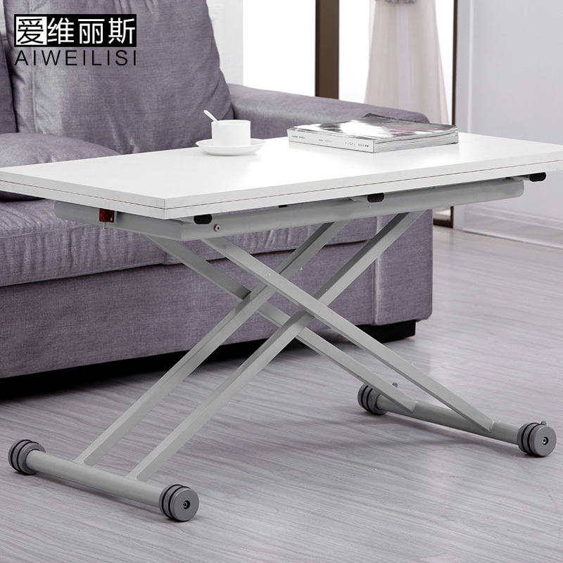 Aiweilisi simple multipurpose folding telescopic lift coffee table coffee table coffee table dining table rice small apartment s(China (Mainland))