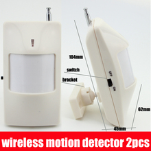 Free Shipping Wireless PIR Sensor Motion Detector 315/433Mhz for Home PTSN GSM Alarm System Security Accessories(China (Mainland))