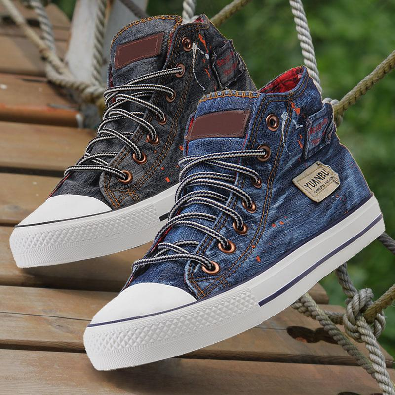2015 new brand unisex high top casual shoes