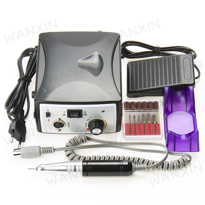 Pro Electric Nail Art Drill File Machine Manicure Kit 35000 RPM Nail Tools Set Free Shipping(China (Mainland))