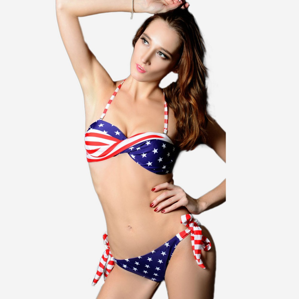 B006 vs bandeau top brand swimwears for women american for Usa hot pic