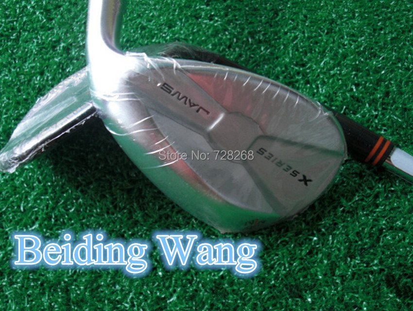 Silver Color Golf X Series Wedge Set With Steel Shaft 52/56/60 Degree Golf Clubs 3PCS(China (Mainland))