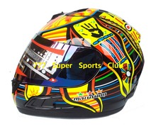 Valentino Rossi Motorcycle Full Face Helmet Moto Carting Casco Racing Capacete DOT Approval(China (Mainland))