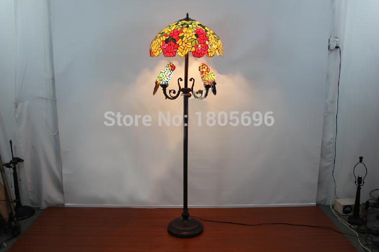 Best Wholesale Classical Art Parrot Floor Lamp European Vintage ...