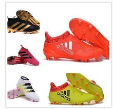 Free shipping 2016 new High Ankle original FoOTBaLl BoOTs FG AG Outdoor SoCCeR Ace 16 Purecontrol shoes eur 39-45 a1(China (Mainland))