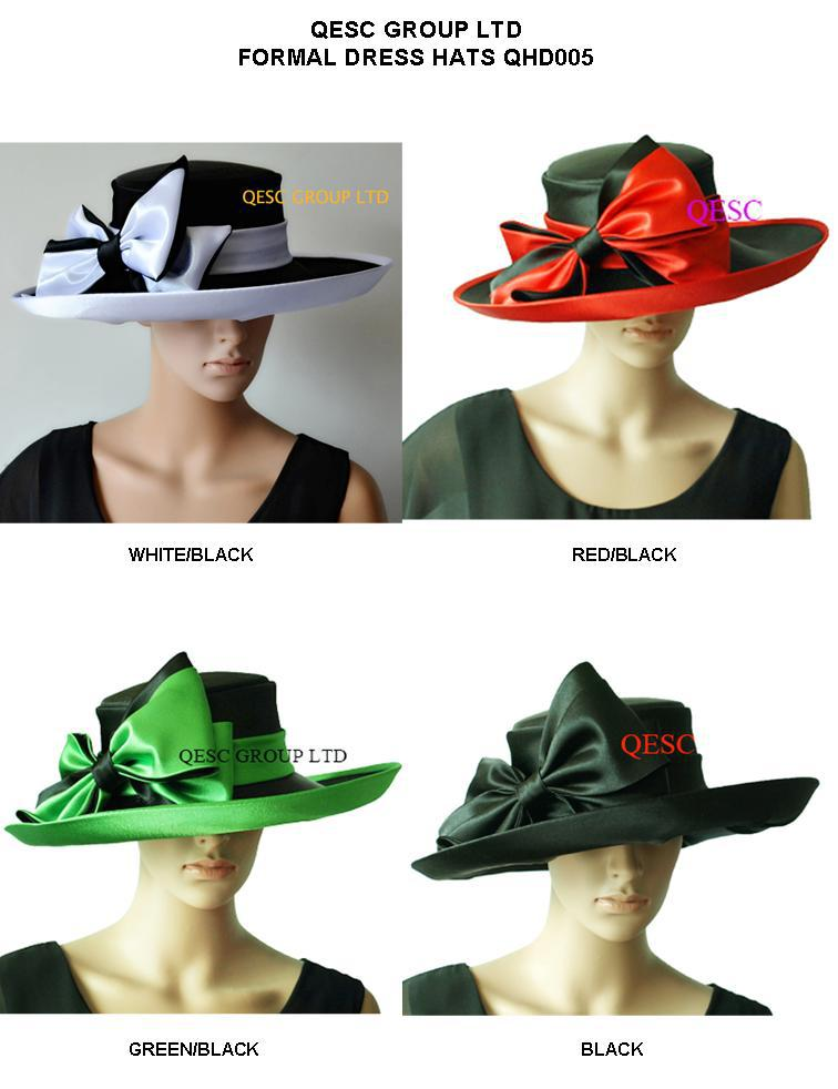 NEW ARRIVAL ladies wide brim satin hat dress hat with satin bow.up brim for wedding races church hat formal hat.(China (Mainland))